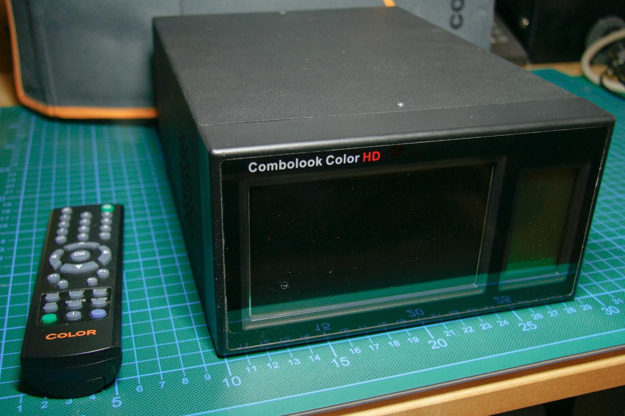 Frontseite des Combolook Color HD