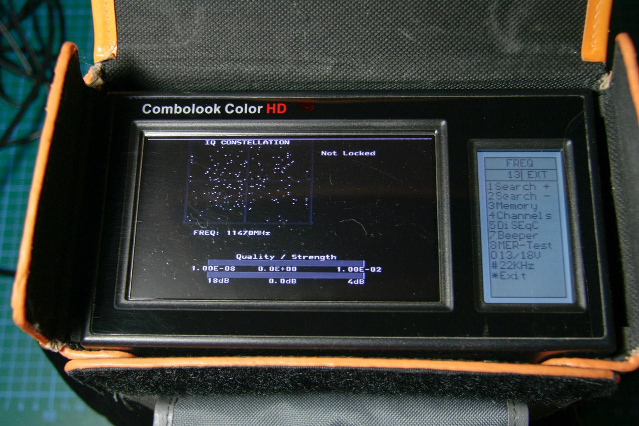 Combolook zeigt Konstellationsdiagramm